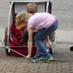 fahrradanhänger kind